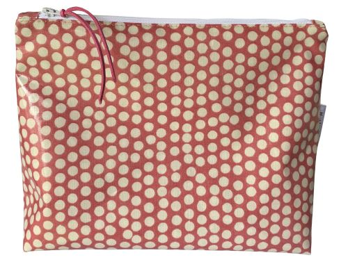 Blush Spotty Washbag