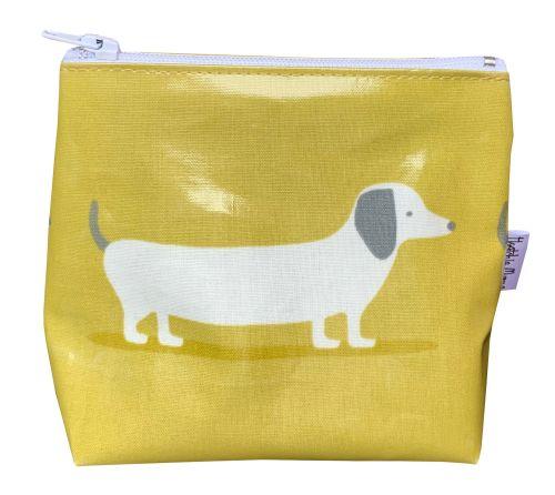 Hound Dog Ochre Mini Makeup Bag
