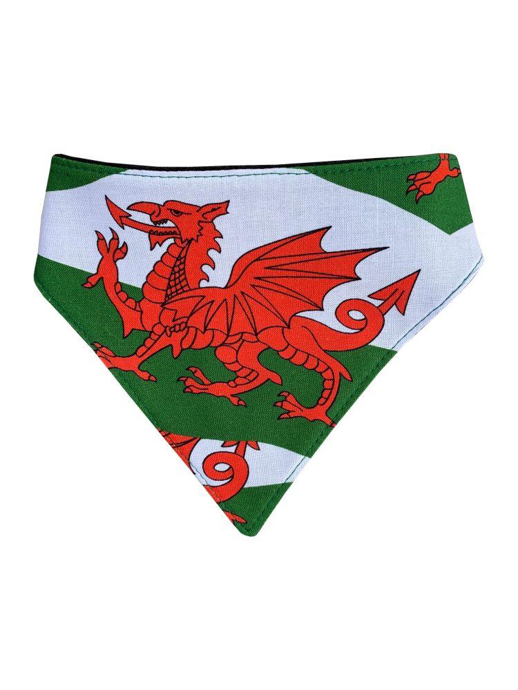 Welsh Flag Dog Bandana