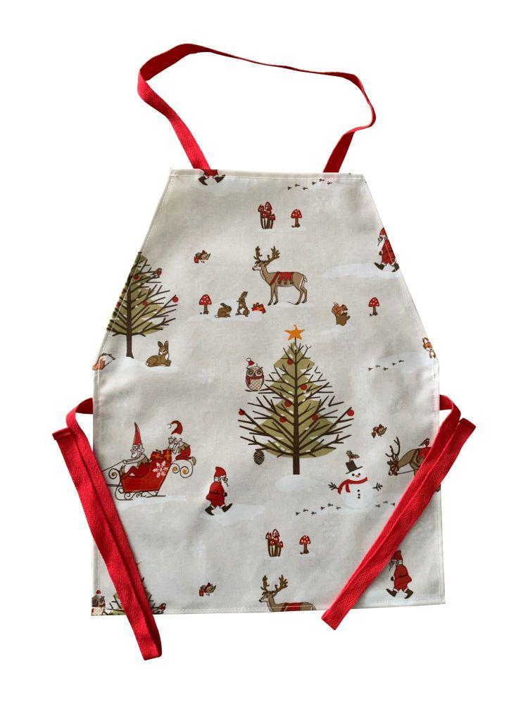 Christmas Woodland Apron