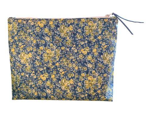 Blue Classic Rose Large Washbag