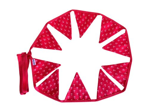 Red Anchors Mini Bunting