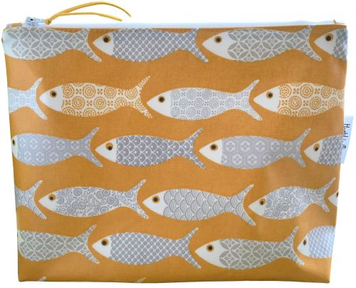 Ochre Fish Washbag