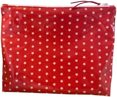 Red Stars Washbag