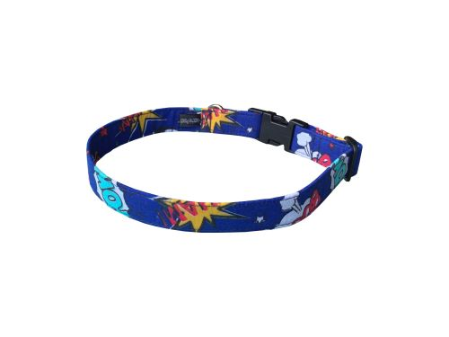 Blue Boom Pow Wow Dog Collar