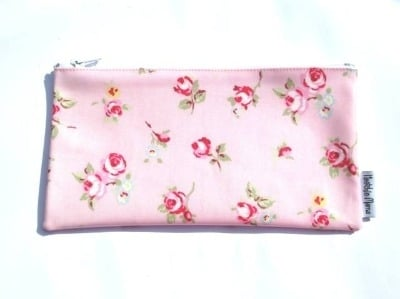 Pink Rosebud Make-up Bag