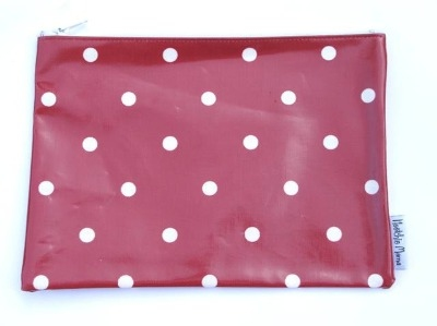 Red Polka Dot Washbag