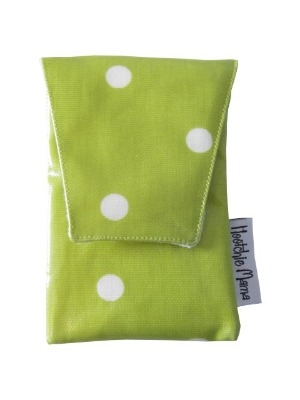 Lime Green Polka Dot Mobile Case