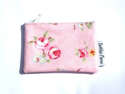 Pink Rosebud Mini Purse