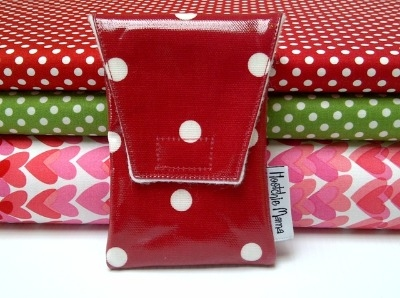 Red Polka Dot Mobile Case
