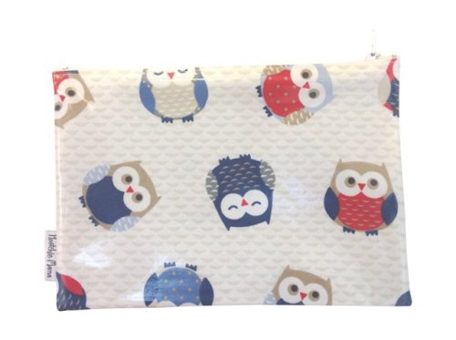 Blue Owls Washbag