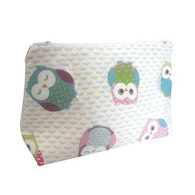 Pink Owls Washbag