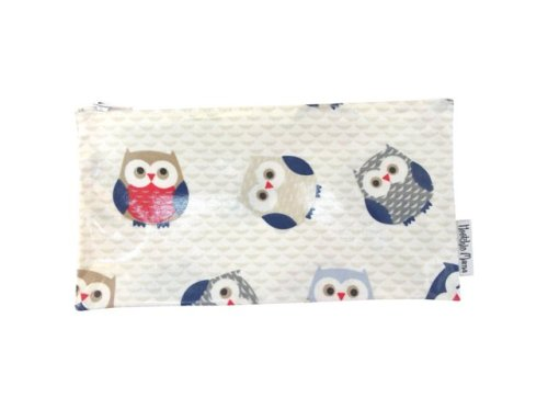 Blue Owls Make-up Bag