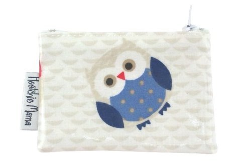 Blue Owls Mini Purse