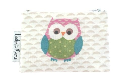 Pink Owls Mini Purse