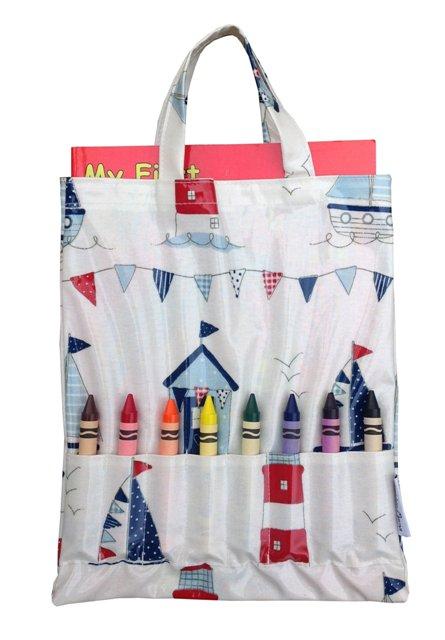Maritime Crayon Bag