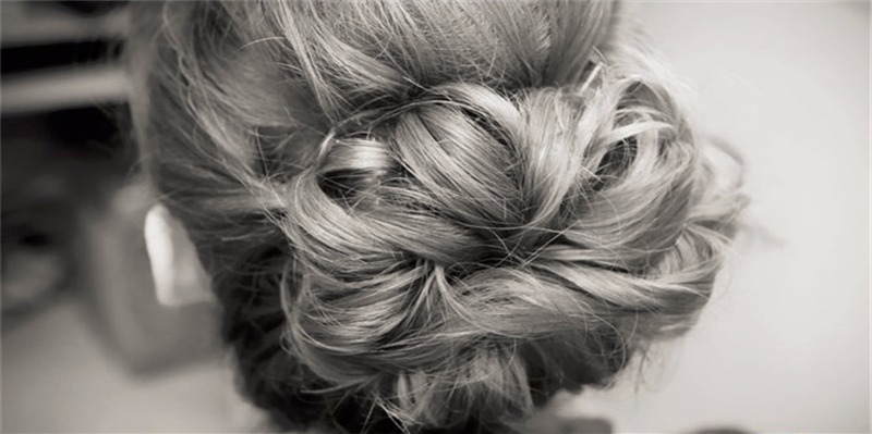 Wedding Hair Surrey | B&W Bun