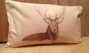 """Stag"" cushion"