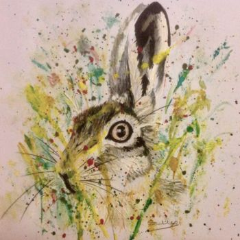 Mad March Hare - SOLD - Prints and cards available