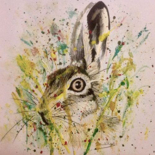 Mad March Hare - SOLD