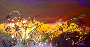 Violet Sunset - SOLD - Prints available