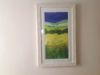 Rape Fields, Brittany - 42.5cms x 73.5cms