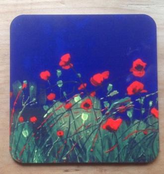 Poppy Coasters
