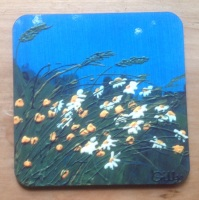Buttercups and Daisies Coasters