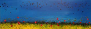 Wheatfield with Crows - SOLD prints available