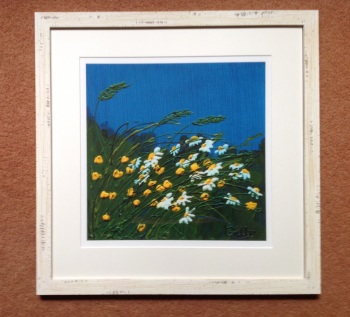 "Buttercups and Daisies 12"" x 12"""