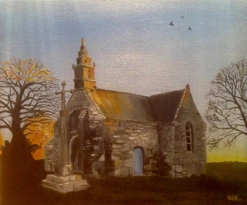 Chapelle Saint-Isidore, Mael Pestivien, Brittany
