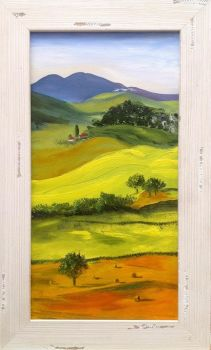 Tuscan Landscape II - SOLD Prints available