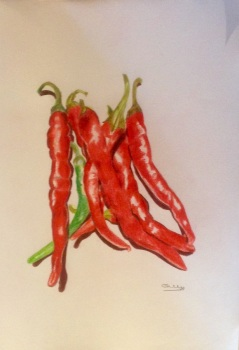 Chillies - SOLD Prints Available