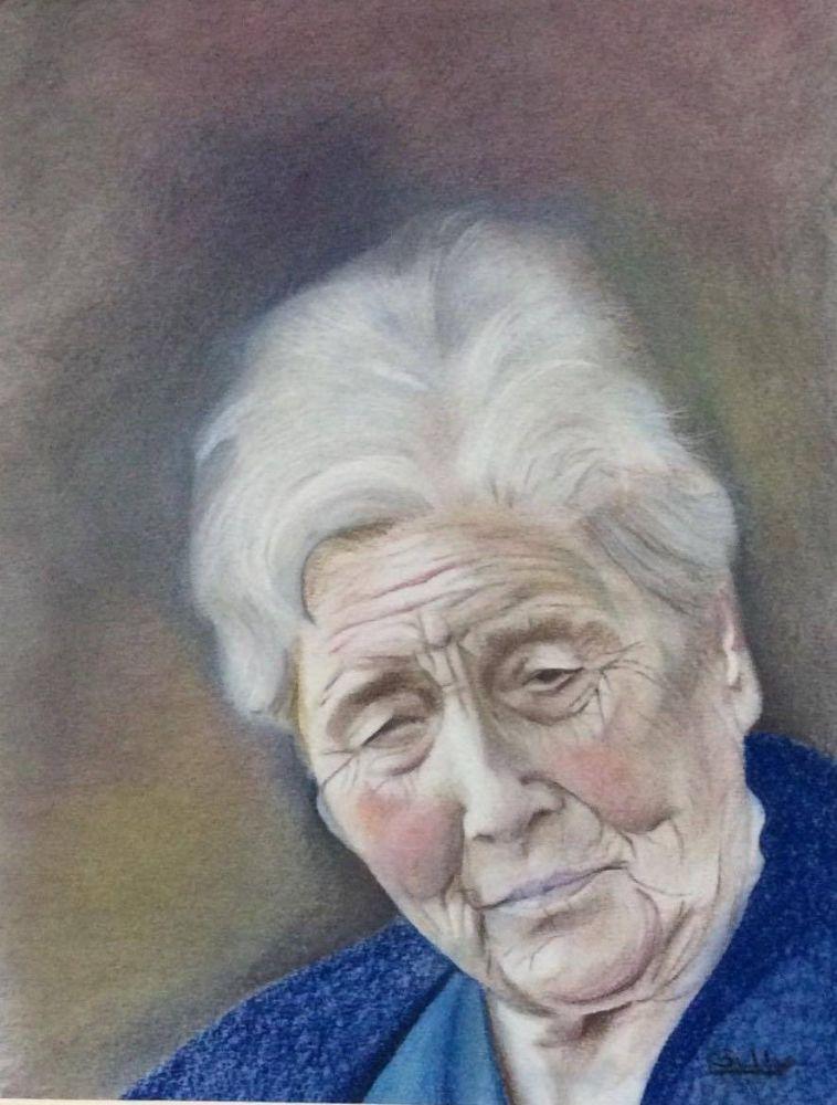 Mum portrait 1