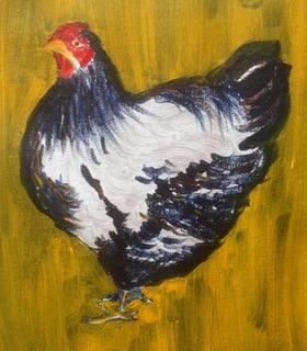 Hen: A Sketch in Oils