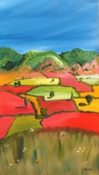 Tuscan Landscape - SOLD - Prints available