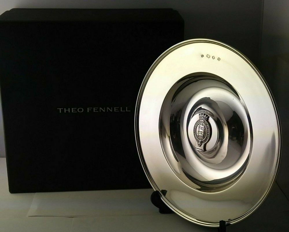 Theo Fennell Silver  Alms Dish - 510g - London 1995