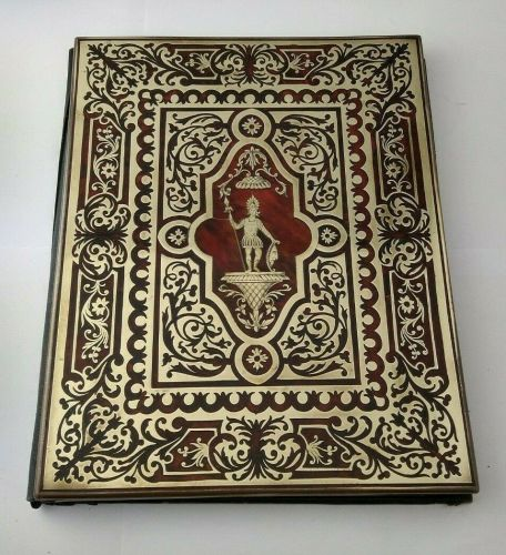 French19th C.  Empire Style Boulle Work Folder Or Folio
