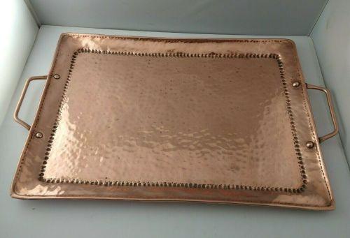 John Pearson - Newlyn - Arts & Crafts Copper Tray C.1910