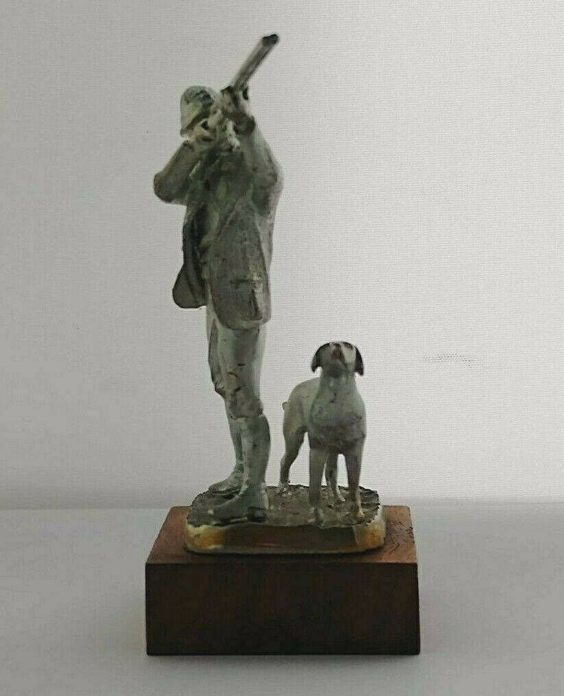 The Shot - Vintage Ltd. Edition Silver Figurine - Sheff. 1977