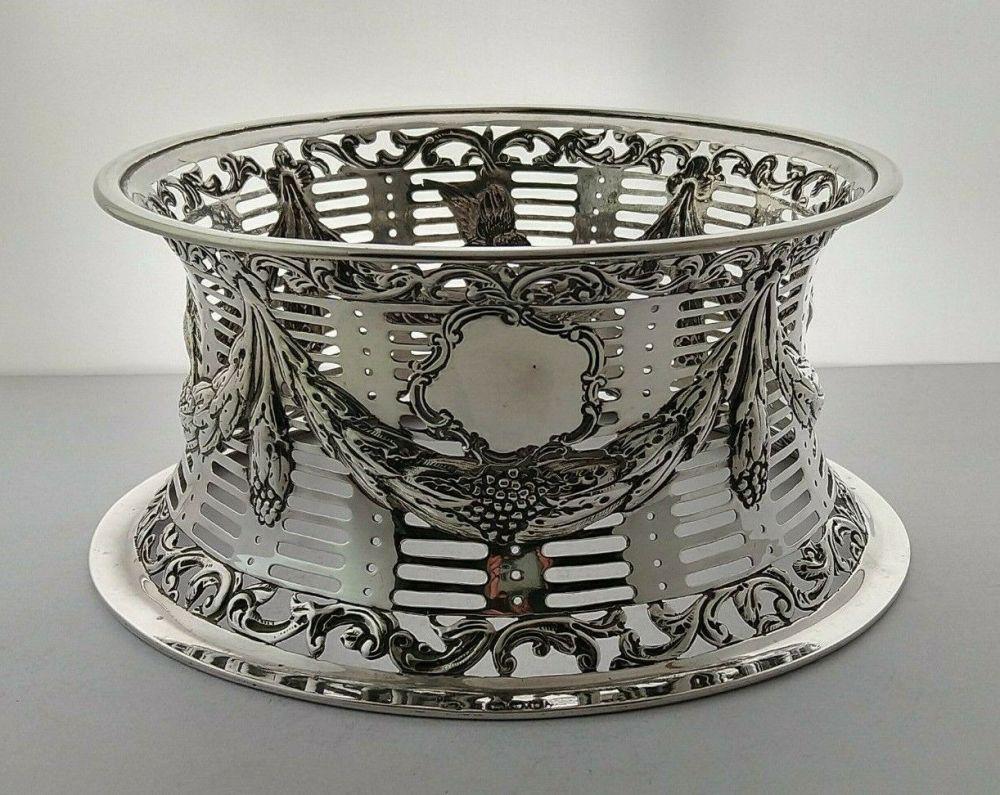 Victorian Silver Dish Ring  - London 1895