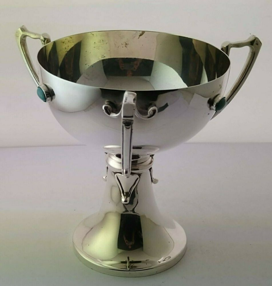 Art Nouveau Silver Chalice Or Tyg - Birm. 1910