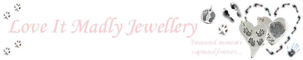 Love It Madly Jewellery, site logo.