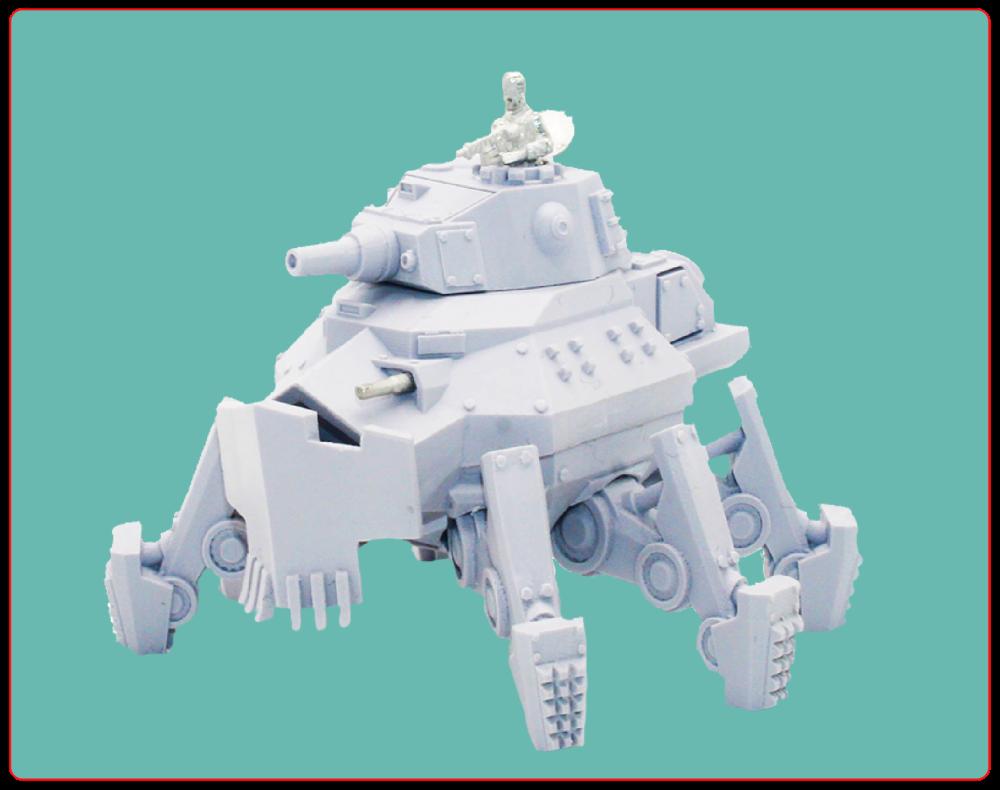 German Heavy Mechpanzer 'Thor'