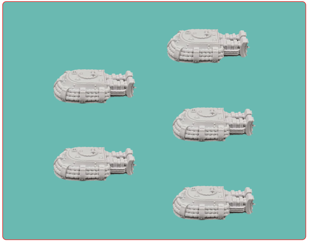 Soviet Sonic Quake Turrets (5 turrets)