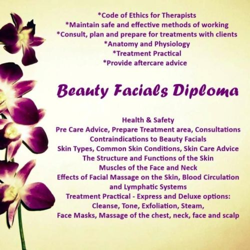 Beauty Facials Course Stockport