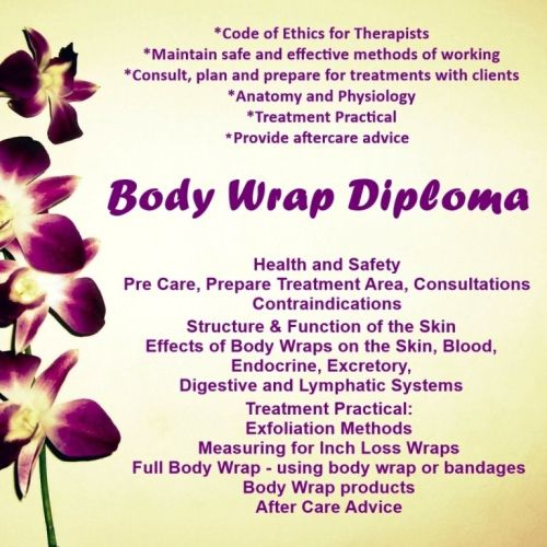 Accredited Body Wrap Course Stockport
