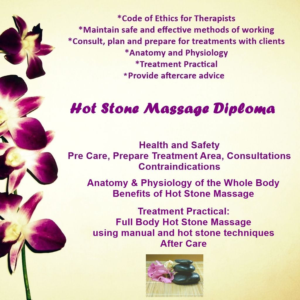 Accredited Hot Stone Massage Course Stockport