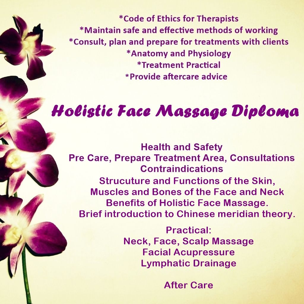 Accredited Holistc Face Massage Course Stockport