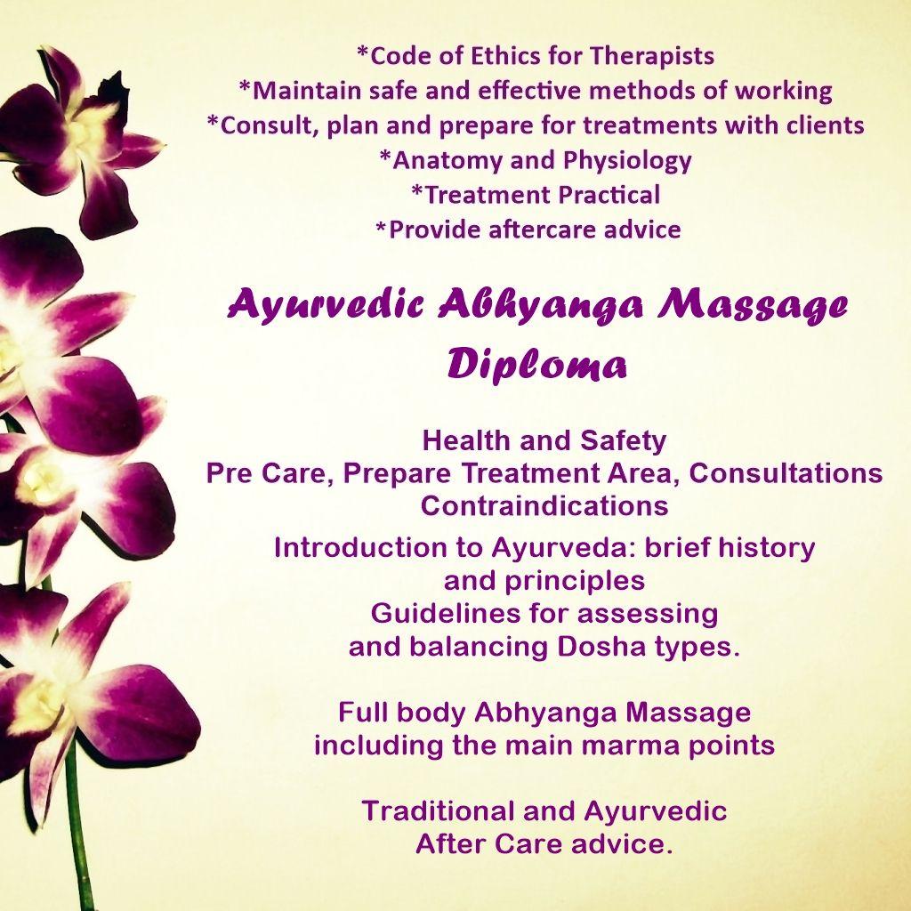 Ayurvedic Abhyanga Massage Course
